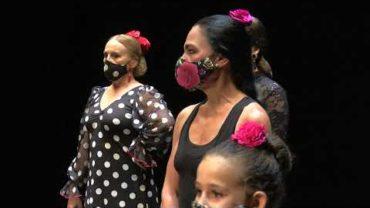 El Florida acoge las muestras de  fin de curso del Aula de Flamenco de la Escuela Sanchez Verdú