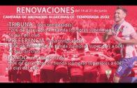 El Lunes se inician las renovaciones de abonos en el Algeciras CF