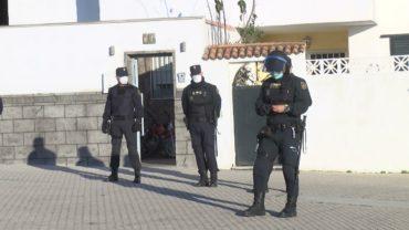 Investigados como presuntos autores de un delito de riña tumultuaria