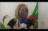 Pilar Pintor recibe en el Museo a la nueva presidenta de Alcultura