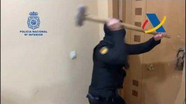 Policía Nacional realiza una operación contra el tráfico de drogas