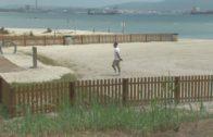 Abre al público la playa canina de La Concha