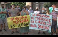 Concentración contra la construcción del nuevo CIE en Algeciras