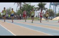 El equipo de relevos 4×100 del Bahía, Campeón de España
