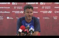 Iván Ania espera ver mejoría en su equipo mañana en Marbella