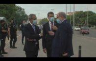 Landaluce califica de «falta de respeto institucional» la visita de Marlaska y Campo a Algeciras