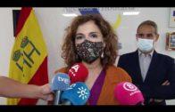 Montero resalta el «trabajo silencioso» de Aduanas y fuerzas de seguridad contra el narcotráfico