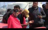 Trasladan al puerto de Algeciras a nueve personas rescatadas de una patera