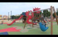 El ayuntamiento renueva el suelo y vallado del parque de Calistenia en el recinto ferial