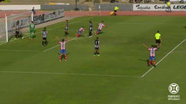 El derbi se decanta claramente para el Algeciras CF, 0-4