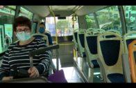 Los autobuses urbanos paran durante 3 horas en la primera jornada de movilizaciones