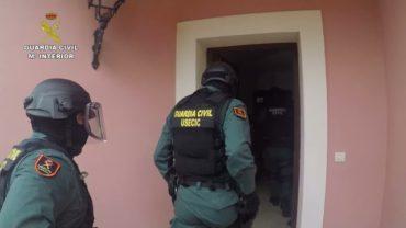 Detenidas 20 personas en una operación contra el narcotráfico en el Campo de Gibraltar y Málaga