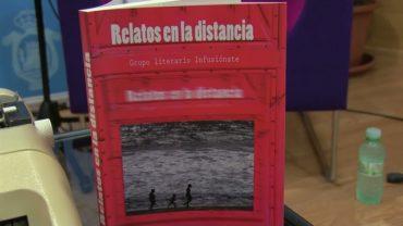 """Presentación del libro """"Relatos en la distancia"""" del grupo literario """"Infusiónate"""""""